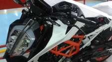 Špijunska fotografija: KTM 390 Duke za 2017?