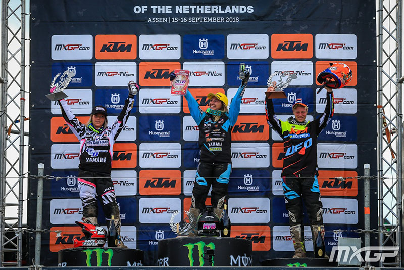 PODIUM WMX MOTOCROSS GP 18 NED 2018
