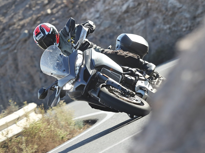 Multistrada 1260 S Test