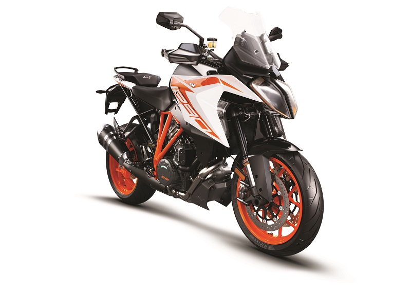 KTM 1290 Super Duke GT MY19 Orange Front Right