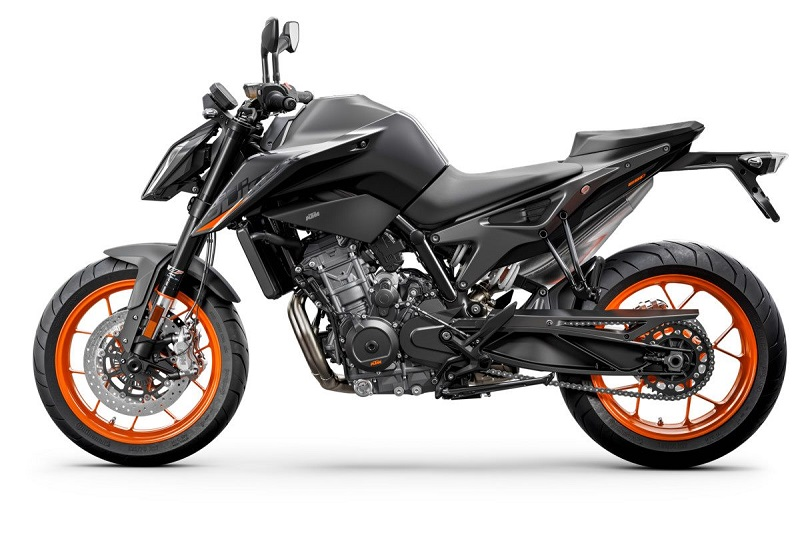 KTM 890 DUKE Studio black left