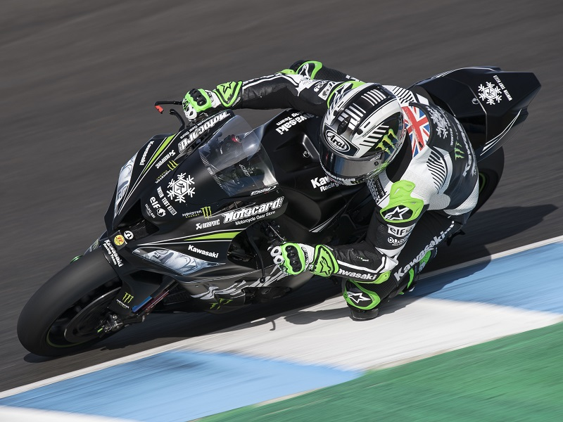 Test Jerez WorldSBK2017 Thursday Rea DSC4231