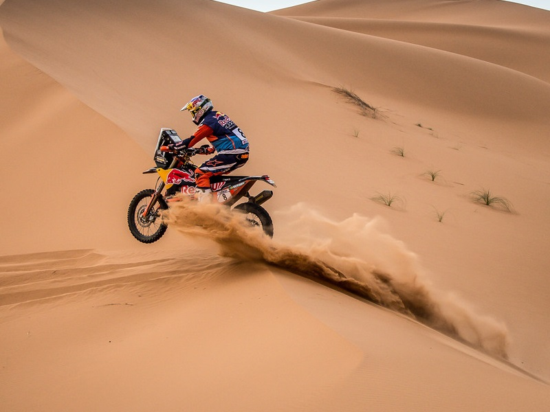 253560 Toby.Price Red Bull KTM Factory Racing Rally du Maroc 2018 113
