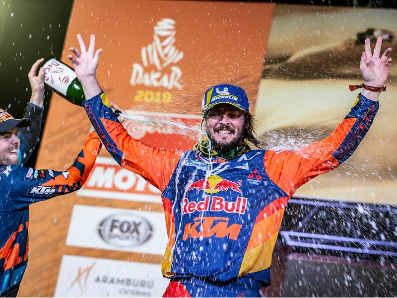 263427 toby.price finish Red Bull KTM Factory Racing Dakar2019 504