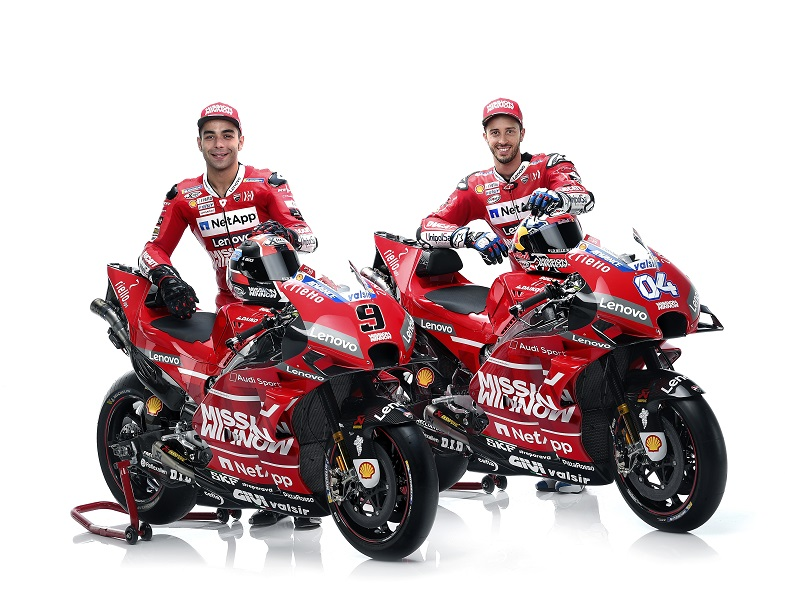 Dovizioso and Petrucci 04 UC70050 Mid