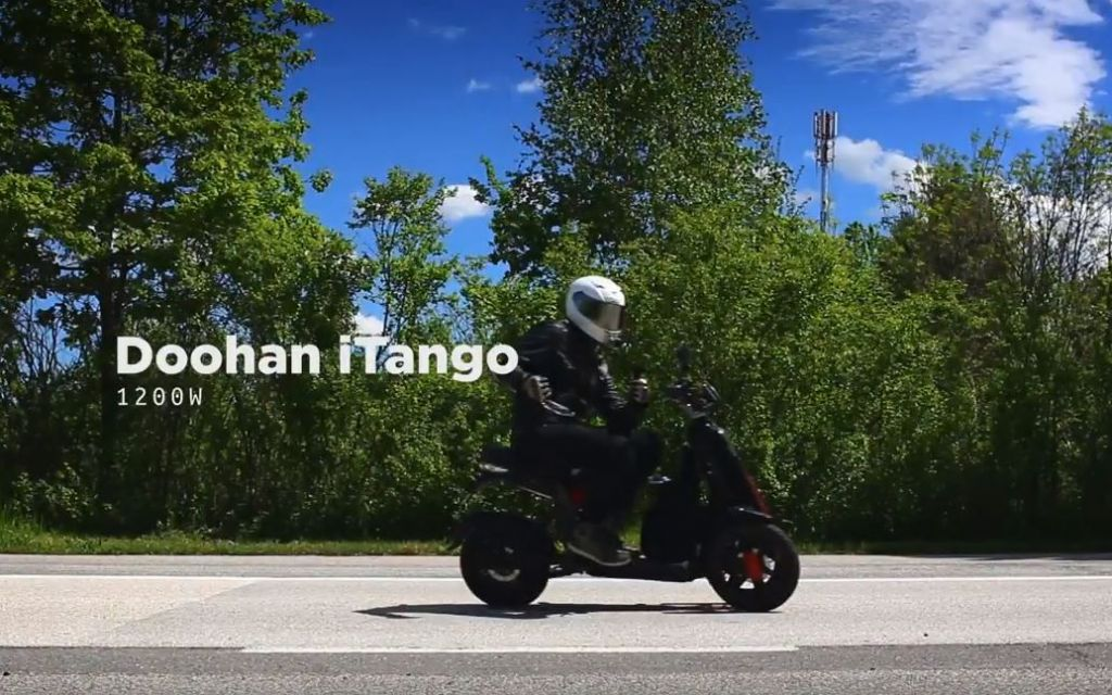 Road Trip From Zagreb -Crikva on electric Doohan iTank & iTango