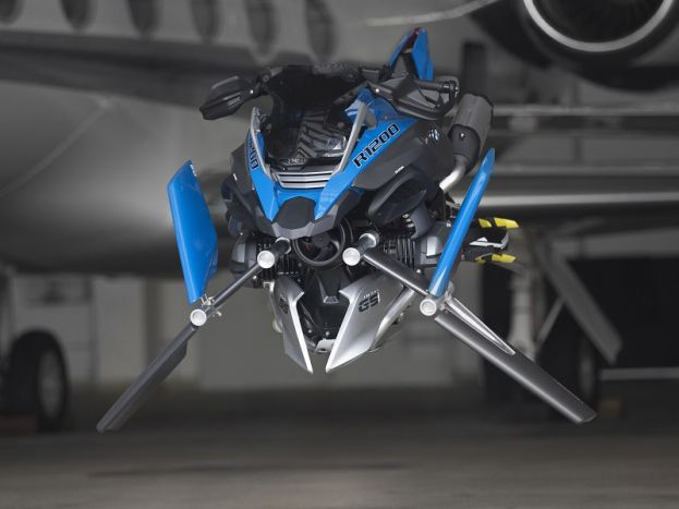 Koncept: BMW R 1200 GS Adventure Hover Ride Design