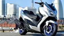 Obnovljeni Suzuki Burgman 400 za 2021.