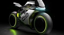 Koncept Segway motocikla na vodik
