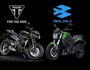 Triumph se udružuje s indijskim Bajajom